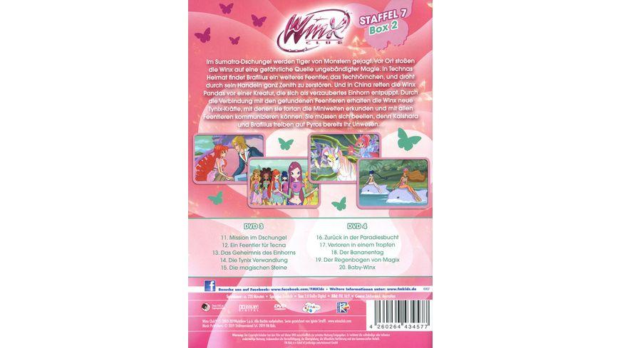 Winx Club Staffel 7 Box 2 2 DVDs