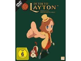 Detektei Layton Katrielles raetselhafte Faelle Volume 1 Episode 01 10 2 DVDs
