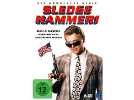 Sledge Hammer Die komplette Serie Episode 01 41 Pilot 6 DVDs