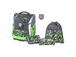 SCHNEIDERS Toolbag Plus 4 teiliges Set Camo Green