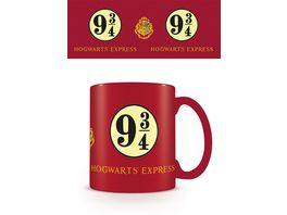 Harry Potter 9 3 4 Keramik Tasse