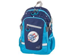 SCHNEIDERS Rocket Kids Backpack Blue
