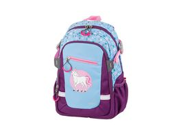 SCHNEIDERS Little Unicorn Kids Backpack Blue