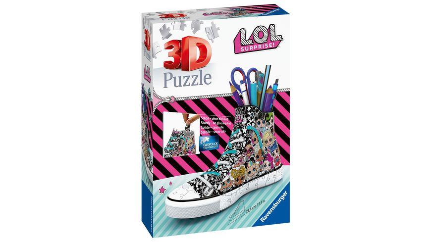 Ravensburger Puzzle - 3D Puzzle-Organizer - Sneaker - LOL, 108 Teile