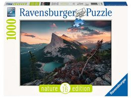 Ravensburger Puzzle Abends in den Rocky Mountains 1000 Teile