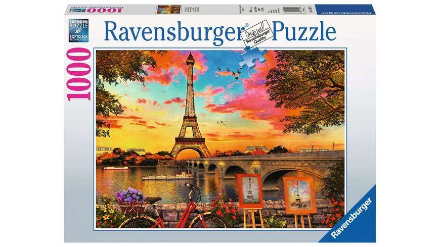Ravensburger Puzzle Abendstimmung in Paris 1000 Teile
