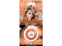 Schwarzkopf GOT2B Gluecksstraehne Apricot Orange Auswaschbar