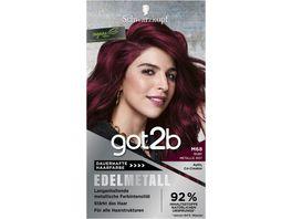 Schwarzkopf GOT2B Edelmetall M68 Ruby Metallic Stufe 3