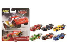 Mattel Disney Cars Xtreme Racing Serie Dragster Rennen Die Cast Sortiment 1 Stueck