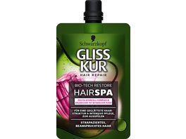 Schwarzkopf GLISS KUR Intensiv HairSPA Bio Tech Restore