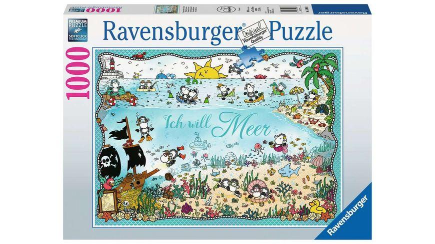 Ravensburger Puzzle Sheepworld unter dem Meer 1000 Teile