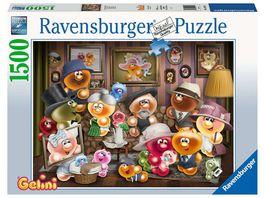 Ravensburger Puzzle Gelini Familienportraet 1500 Teile