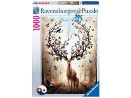 Ravensburger Puzzle Magischer Hirsch 1000 Teile