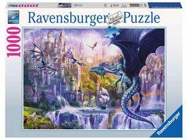 Ravensburger Puzzle Drachenschloss 1000 Teile