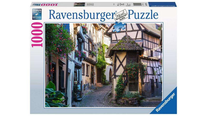 Ravensburger Puzzle - Eguisheim im Elsass, 1000 Teile