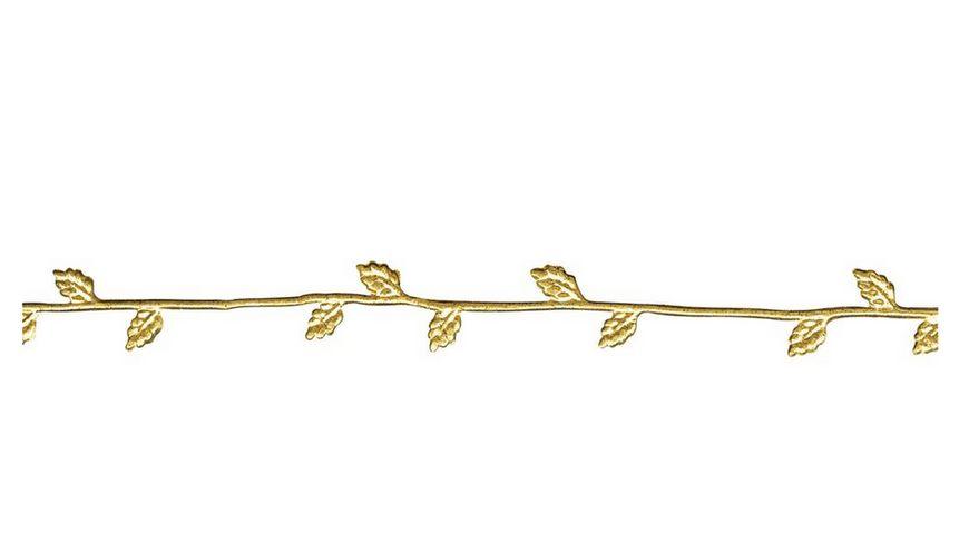 Rayher - WACHSBORTE GOLD 21 CM 2 STUECK 3109806
