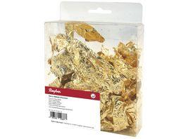 Rayher DECO METALL FLOCKEN 1G GOLD 2171506