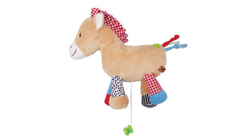 Die Spiegelburg Spieluhr Pferdchen BabyGlueck Pferdchen lauf Galopp