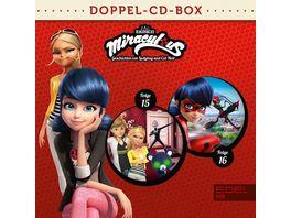 Miraculous Hoerspiel Doppel Box Folgen 15 16