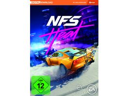 Need for Speed Heat Code in a Box