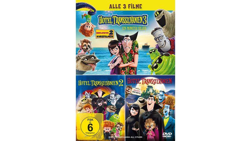 Hotel Transsilvanien 1 3 3 DVDs
