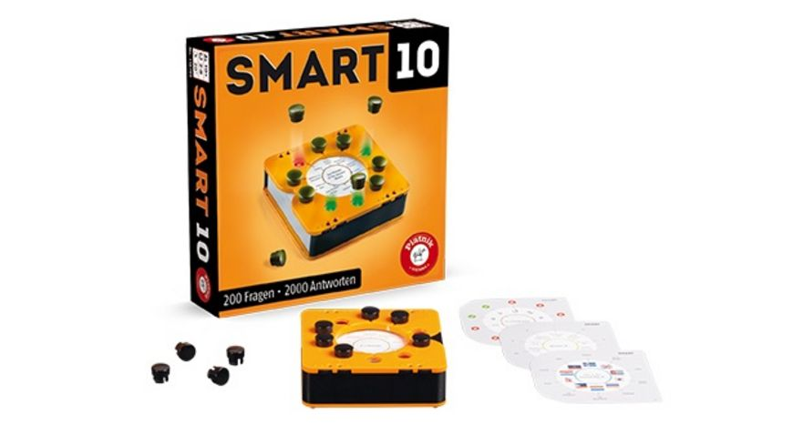 Piatnik SMART 10 Das revolutionaere Quizspiel