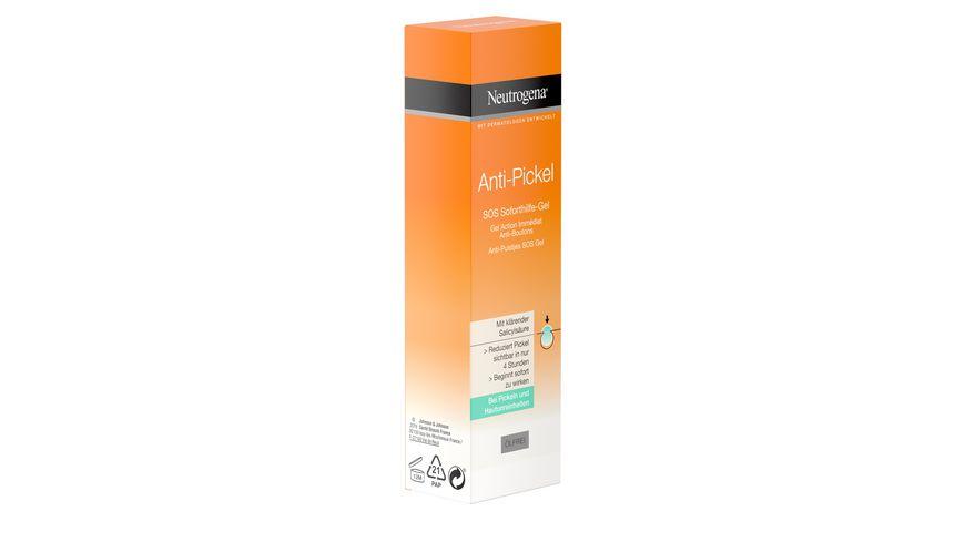Neutrogena Anti Pickel SOS Soforthilfe Gel