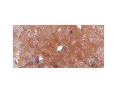 Rayher GLAS SCHLIFFPERLE 3MM IRI ROSENQUARZ 100 STUeCK 14202810