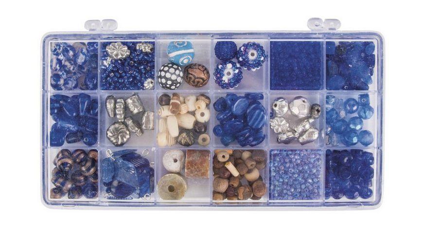 Rayher GLASPERLEN BOX 240G AQUAMARIN 14115825