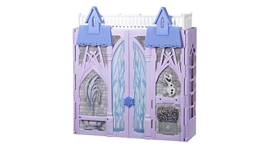 Hasbro Disney Die Eiskoenigin Arendelle Schloss fuer unterwegs inspiriert durch Disneys Die Eiskoenigin 2 portables Spielset