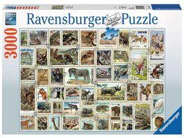 Ravensburger Puzzle Tierbriefmarken 3000 Teile