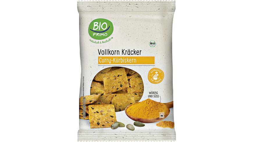 BIO PRIMO Vollkorn-Kräcker Curry und Kürbiskernen