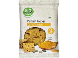 BIO PRIMO Vollkorn Kraecker Curry und Kuerbiskernen