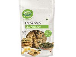 BIO PRIMO Knaecke Snack Kaese Kuerbiskern