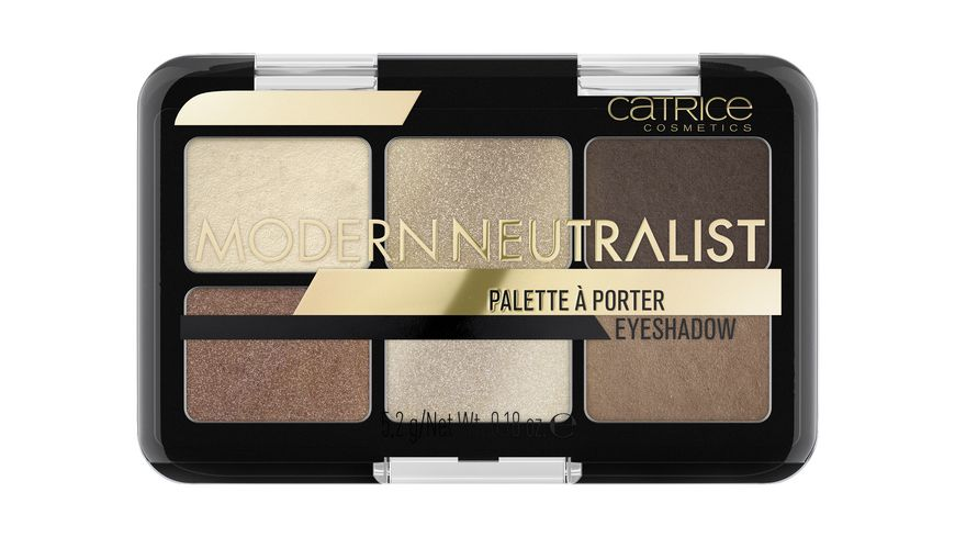 Catrice Modern Neutralist Palette A Porter Eyeshadow Less Is More