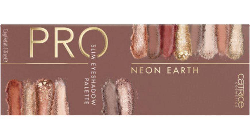 Catrice Pro Neon Earth Slim Eyeshadow Palette Elements Of Power
