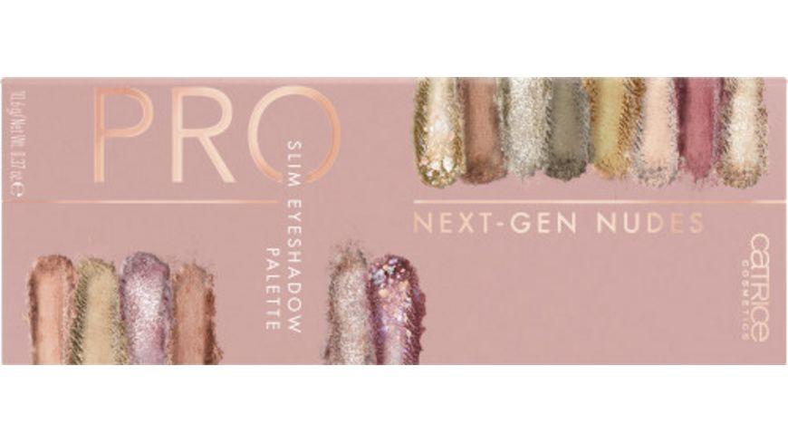 Catrice Pro Next Gen Nudes Slim Eyeshadow Palette Courage Is Beauty