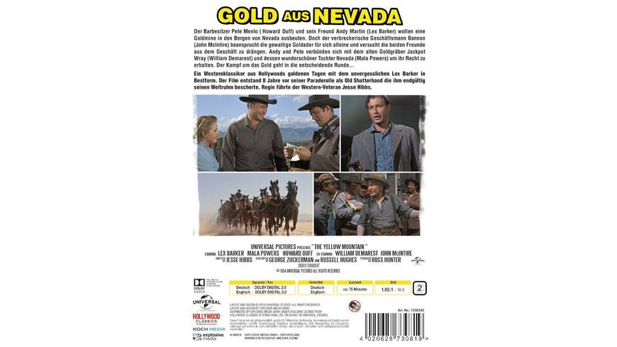 Gold aus Nevada Yellow Mountain