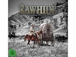 Rawhide Tausend Meilen Staub Die komplette Serie 59 DVDs 1 Blu ray