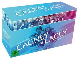 Cagney Lacey Die komplette Serie 34 DVDs