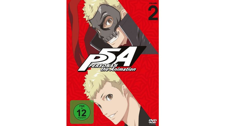 PERSONA5 the Animation Vol 2 2 DVDs
