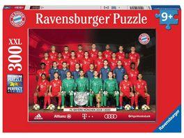 Ravensburger Puzzle FC Bayern Muenchen FC Bayern Saison 2019 20 300 XXL Teile