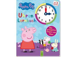 Peppa Pig Uhrenlernbuch Mit beweglichen Zeigern zum Ueben
