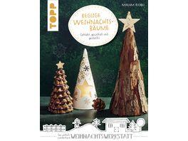 Keglige Weihnachtsbaeume kreativ kompakt Geklebt gewickelt und gesteckt
