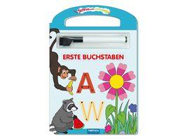 Schreib und Wisch Weg Erste Buchstaben mit Stift 24 Seiten