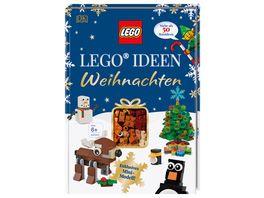 LEGO Ideen Weihnachten Mehr als 50 Bauideen Exklusives Rentier Mini Modell