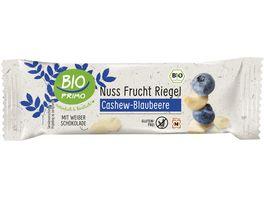 BIO PRIMO Nussfruchtriegel Cashew Blaubeere