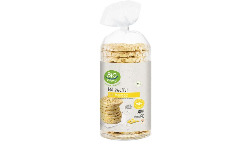 BIO PRIMO Bio Maiswaffeln mit Salz