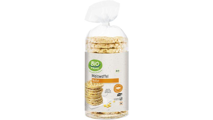 BIO PRIMO Bio Maiswaffeln ohne Salz