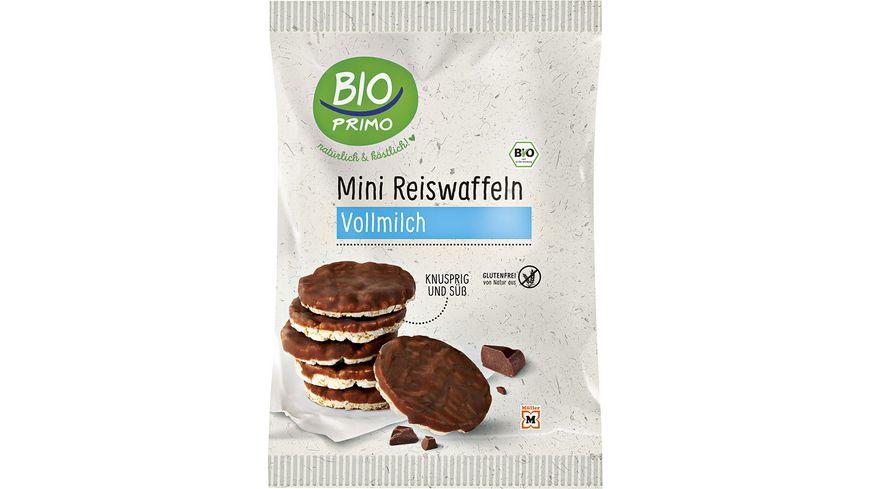 BIO PRIMO Bio Mini-Reiswaffeln, Vollmilch